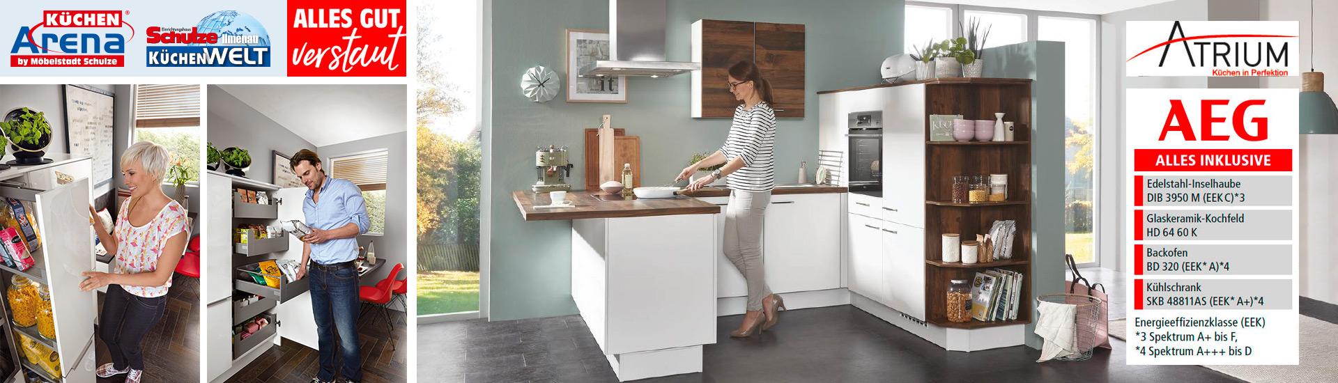 Sie müssen Platz sparen? Wunderschöne Küche für kleine Räume ...