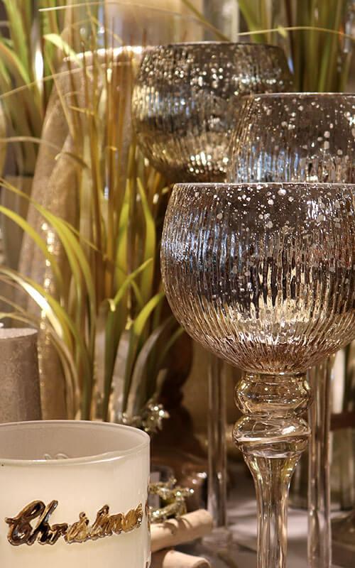 Edle Silber-Deko für Weihnachten | Möbel Schulze