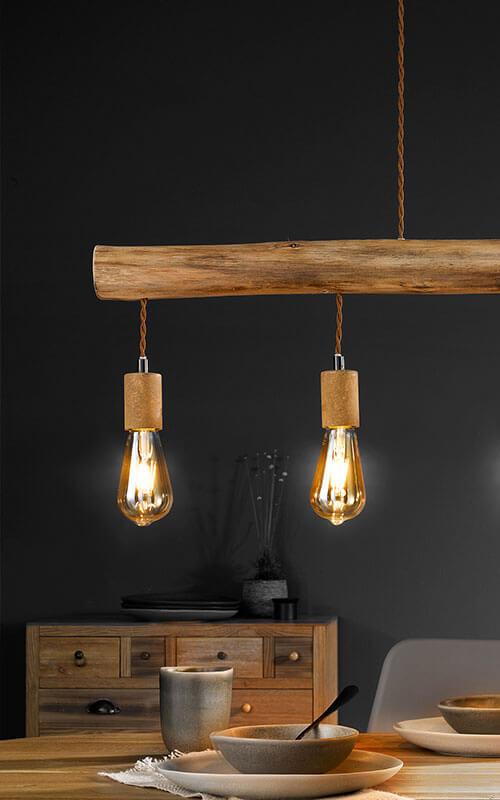 Industrial-Style Lampe für Esstische | Möbel Schulze