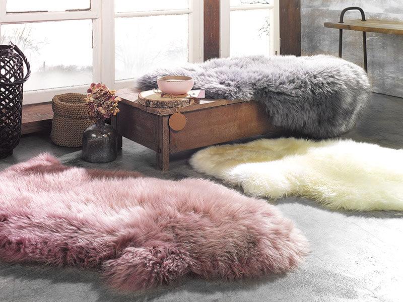Teppiche in Felloptik | Möbel Schulze