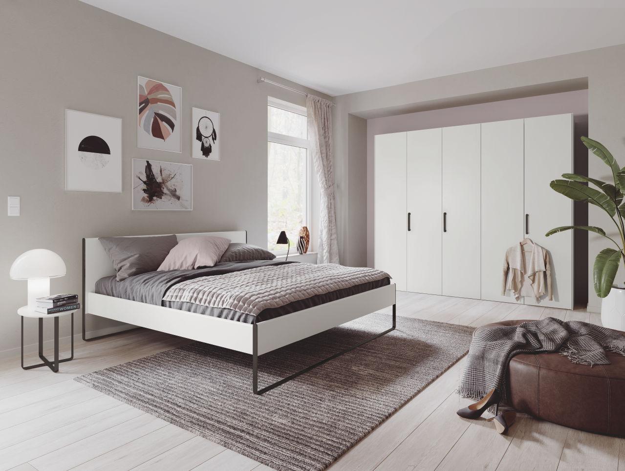 Puristisches Design-Schlafzimmer von Hülsta