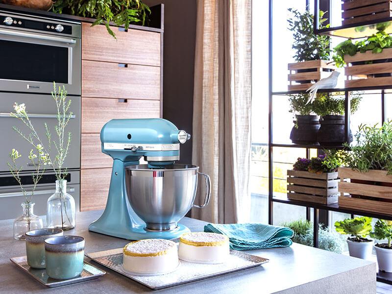 KitchenAid - Küchenmaschine - Standmixer - hellblau | Möbel Schulze