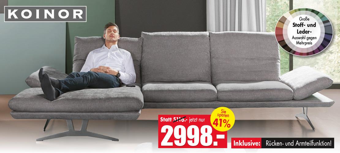 KOINOR | Eckkombination - Couch