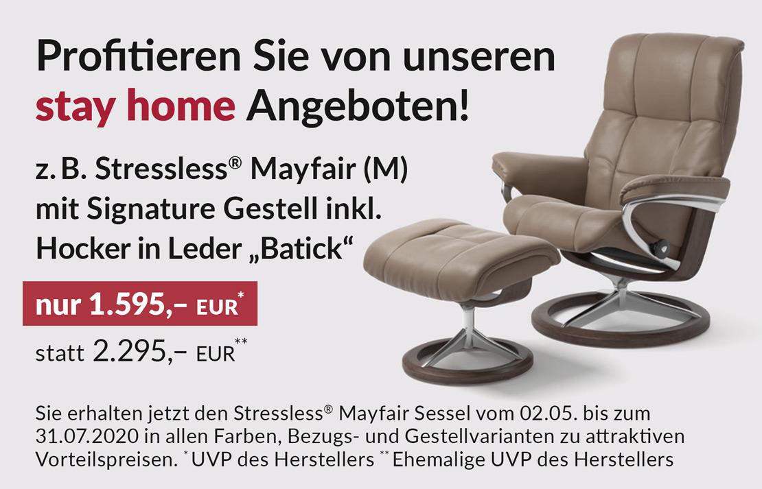 Stressless®Mayfair Sessel in Leder