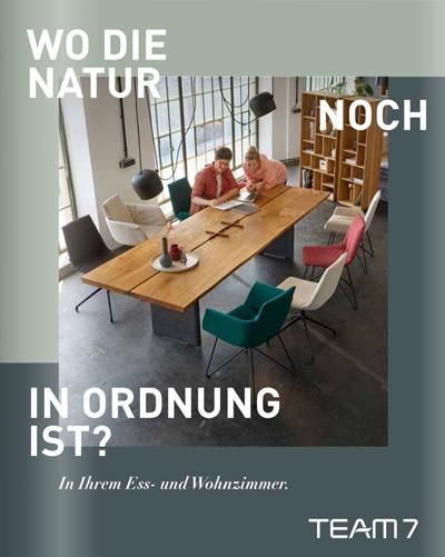 Team7 Naturholz Möbel Essen Speisen Wohnen